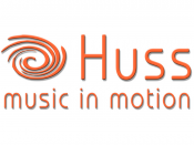 Logo von Huss - music in motion, Musik · DJ's · Bands Karlsruhe