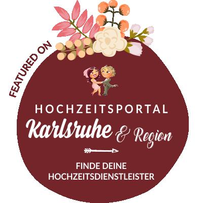 Featured auf Hochzeit & Heiraten in Karlsruhe, Baden